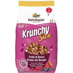 Muesli Krunchy Sun Frutos Bosque Bio 375 gr. Barnhouse
