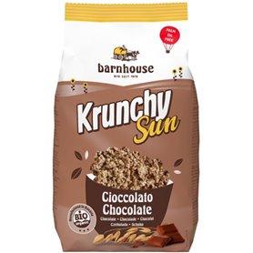 Muesli Krunchy Sun Chocolate Bio 375 gr. Barnhouse