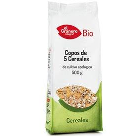 Copos 5 Cereales Bio 500 gr. El Granero