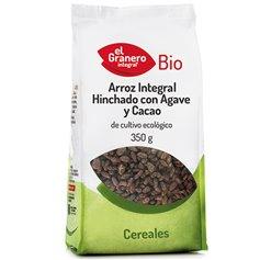 Arroz Int. Hinchado Cacao Bio 350 gr. El Granero