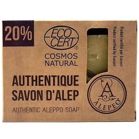 Pastilla Jabón Alepo 20% Bio 200 gr. Alepeo
