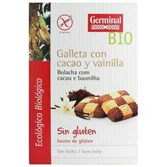 Galleta cacao Vainilla sin gluten Bio 250 gr. Germinal