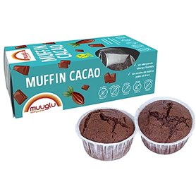 Muffin Cacao sin gluten 120 gr. Muuglu