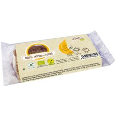 Barrita Plátano Avellanas sin gluten Bio 35 gr. Zealia