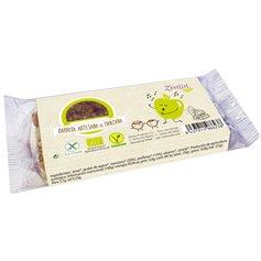 Barrita Manzana Canela sin gluten Bio 35 gr. Zealia