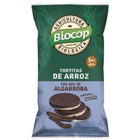 Tortitas Arroz cobertura Algarroba Bio 100 gr. Biocop
