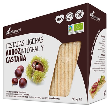 Tostadas Castaña sin gluten 90 gr.