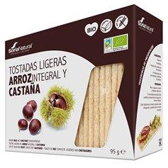 Tostadas Castaña sin gluten Bio 90 gr. Soria Natural