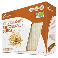 Tostadas Quinoa sin gluten Bio 100 gr. Soria Natural
