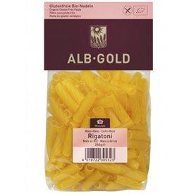 Macarrón Maíz Arroz sin gluten Bio 250 gr. AlbGold
