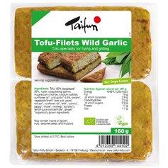 Filetes Tofu Ajo silvestre Bio 160 gr. Taifun