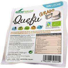 Qefu Curado Bio 200 gr. Soria Natural