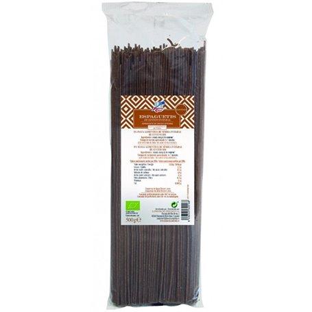 Espagueti Integral Centeno Bio 500 gr. Finestra