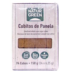 Cubitos Panela Bio 24 ud. 150 gr. Naturgreen