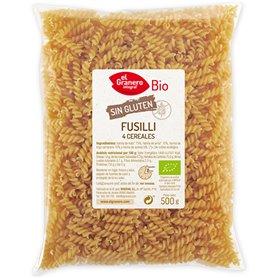 Espirales 4 Cereales Sin Gluten Bio 500 gr. El Granero