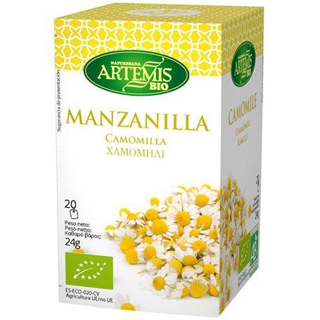 Infusión Manzanilla Bio 20 ud. Artemis