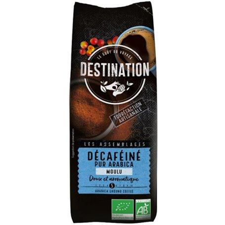 Café molido Arábica 100% descafeinado Bio 250 gr. Destination