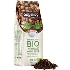 Café grano 100% Arábica Bio 250 gr. Oquendo