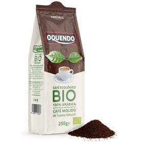 Café molido 100% Arábica Bio 250 gr. Oquendo