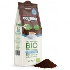 Café molido descafeinado 100% Arábica Bio 250 gr. Oquendo
