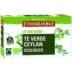 Té Verde Ceylan Bio Comercio Justo 20 ud. Ethiquable