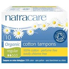 Tampón regular digital sin aplicador algodón bio 10 ud. Natracare