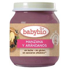 Potito Manzana Arándanos Bio 130 gr. Babybio