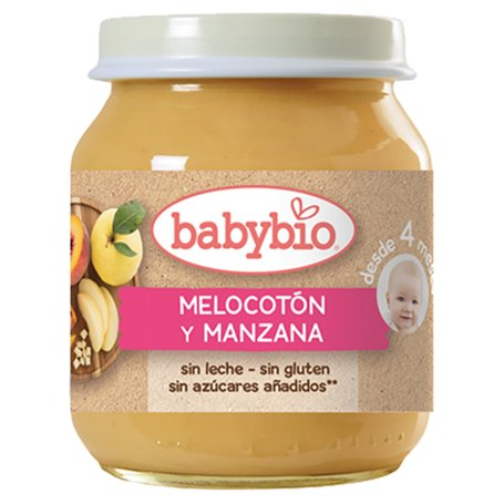 Potito Melocoton Manzana Babybio 130 gr.