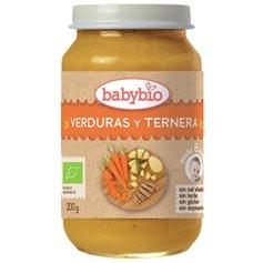 Potito Ternera Verduras Babybio 200 gr.