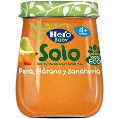 Potito Manzana Pera Zanahoria Bio 200 gr. Hero