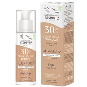 Crema Solar Facial color Beige SPF30 Bio 50 ml. Alga Maris