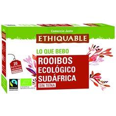 Té Rooibos Bio Comercio Justo bolsitas 20 ud. Ethiquable
