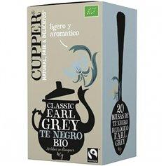 Té Earl Grey Bio bolsitas 20 ud. Cupper