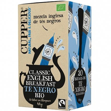 Té English Breakfast Bio bolsitas 20 ud. Cupper