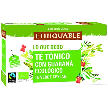 Té Tónico Guaraná Bio 20 ud.