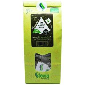 Cola Caballo Stevia Bio pirámides 15 ud. Stevia del Condado