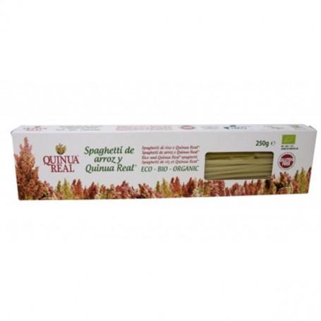 Espagueti Quinoa Real Arroz sin gluten Bio 250 gr. Quinua Real