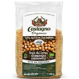 Sopa letras garbanzo Bio 250 gr. Castagno