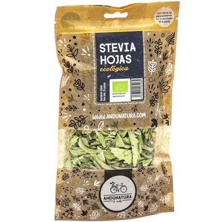Stevia hojas bolsa Bio 20 gr. Andunatura