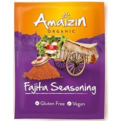 Condimento fajitas Bio 27 gr. Amaizin