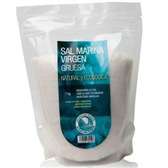 Sal Virgen gruesa Bio1 kg. Salinas San Vicente
