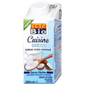 Crema Coco cocinar bio 200 ml. Isola