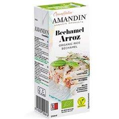 Bechamel Arroz Bio 200 ml. Amandin
