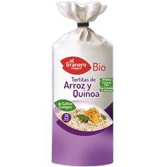 Tortitas Arroz Quinoa sin gluten Bio 120 gr. El Granero