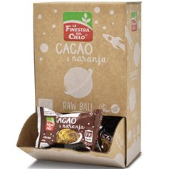 Bola energética Cacao Naranja Bio 25 gr. Finestra