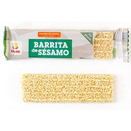 Barrita sésamo Comercio Justo Bio 20 gr. Ideas