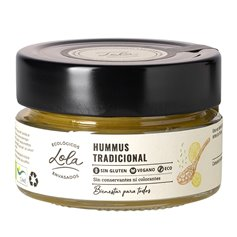 Hummus tradicional Bio 130 gr. Conservas Lola
