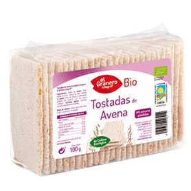 Tostadas Avena Bio 100 gr. El Granero