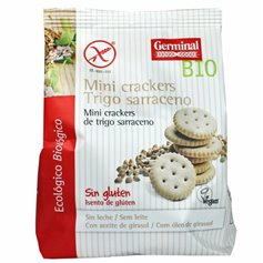 Crackers Sarraceno sin gluten Bio 100 gr. Germinal