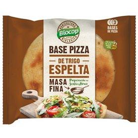 Bases Pizza Espelta Bio 3 ud. 390 gr. Biocop